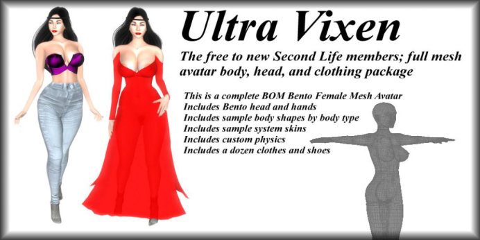 Ultra Vixen - Free For Newbies - Poster