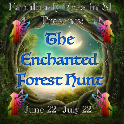 enchanted forest hunt sign main